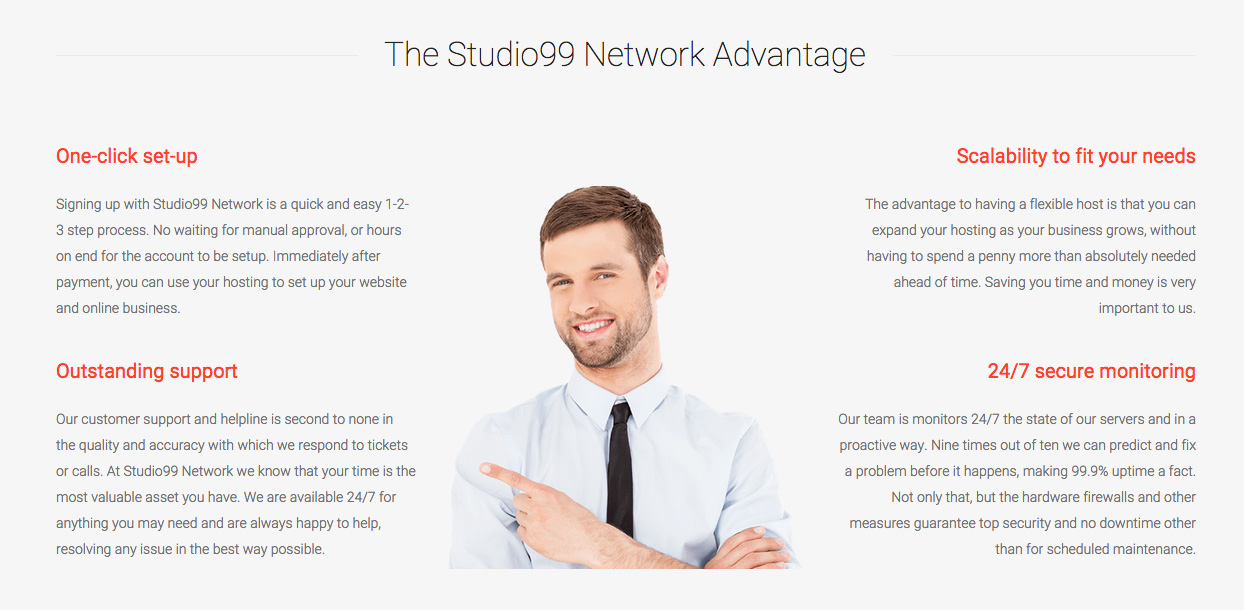 The Studio99 Network Advantage
